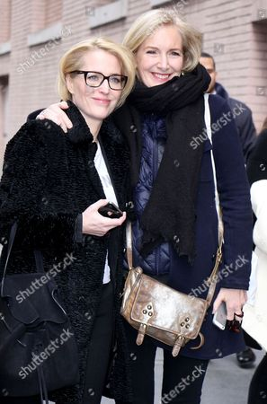 Stock Image of Gillian Anderson and Jennifer Nadel
