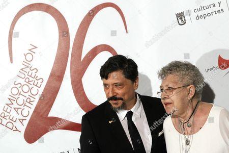 Pilar Bardem and Carlos Bardem