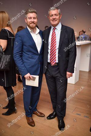 Oliver Hawkins and Gavin Hastings