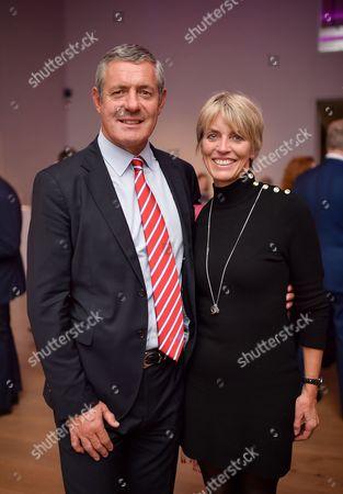 Gavin Hastings and his wife Diane Hastings
