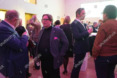 Editorial picture of 'CURE³' Private View in aid of Cure Parkinson's Trust, London, UK - 13 Mar 2017