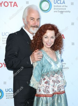 Rick Baker and wife Silvia Abascal
