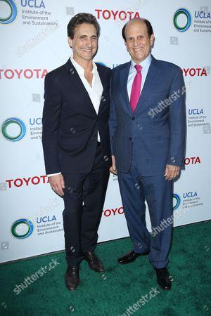 Lawrence Bender and Michael Milken