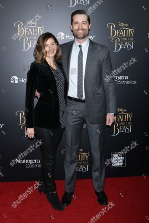Stock Picture of Heather Lieberman and Todd Lieberman, producer