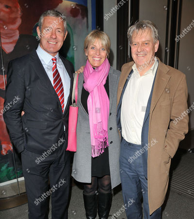 Gavin Hastings, Diane Hastings and her brother