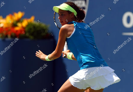 Beatrice Capra of Usa in Action at the Us Open 2010 United States New York