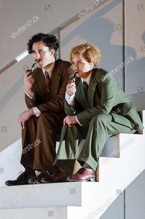 Stock Image of James Laing (Armindo), Stephanie Windsor-Davies (Rosmira disguised as Eurimine)