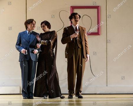 Sarah Tynan (Partenope), Patricia Bardon (Arsace), James Laing (Armindo)
