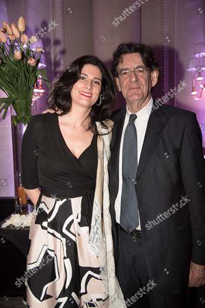 Luc Ferry and wife Marie-Caroline Becq de Fouquieres
