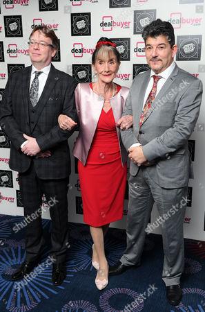 Adam Woodyatt, John Altman and June Brown