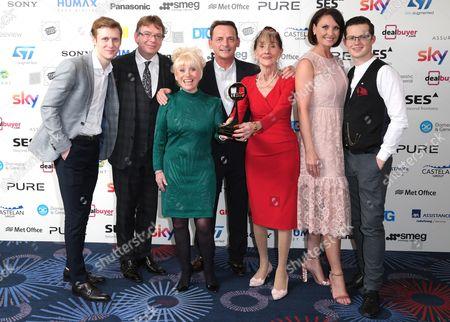 Jamie Borthwick, Perry Fenwick, Adam Woodyatt, Dame Barbara Windsor, June Brown, Emma Barton and Harry Reid