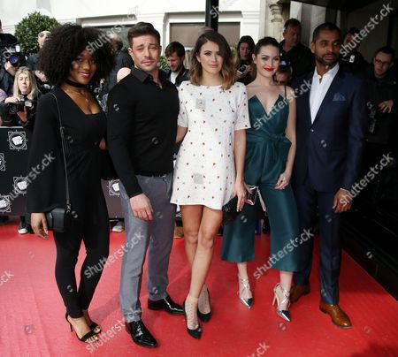 Rachel Adedeji, Duncan James, Sophie Porley, Anna Passey and Karl Collins