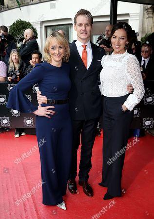 Dan Walker, Louise Minchin and Sally Nugent