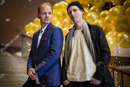 Stock Photo of Dome Karukoski and Pekka Strang