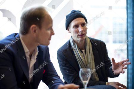 Stock Image of Dome Karukoski and Pekka Strang