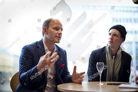 Dome Karukoski and Pekka Strang