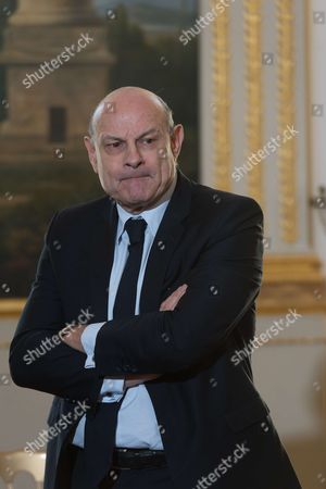 Editorial photo of Signature ceremony for Lebaneese refugees, Elysee Palais, Paris, France - 14 Mar 2017