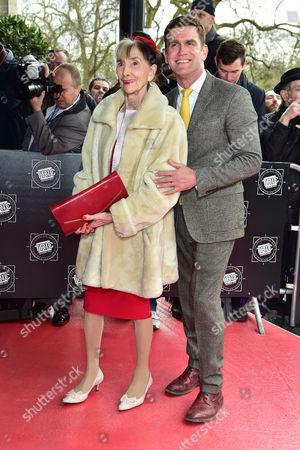 June Brown and Scott Maslen
