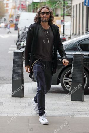 Editorial photo of Russel Brand out and about, London, UK - 14 Mar 2017