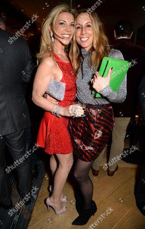 Stock Image of Lisa Tchenguiz Imerman and Hayley Sieff