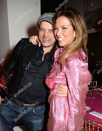 Stock Image of Gerry DeVeaux and Heather Kerzner