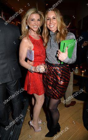Lisa Tchenguiz Imerman and Hayley Sieff