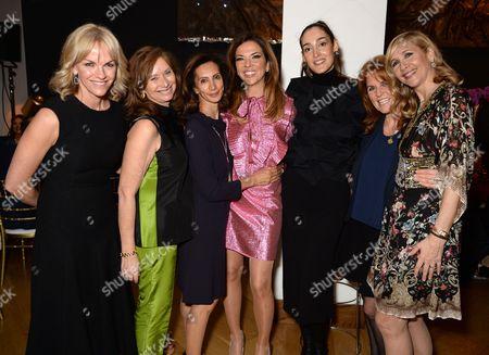 Anita Zabludowicz, Heather Kerzner, Sarah Ferguson Duchess of York and Tania Bryer