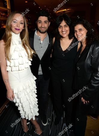 Tamara Ralph, Michael Russo, Shamim Sarif and Hanan Kattan