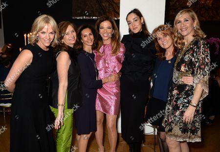 Anita Zabludowicz, Heather Kerzner, Sarah Ferguson Duchess of York and Tania Bryer, Liz Murdoch Fizzy Barclay