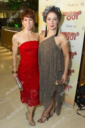 Anne-Jane Casey (Mavis) and Natalie Casey (Sylvia)