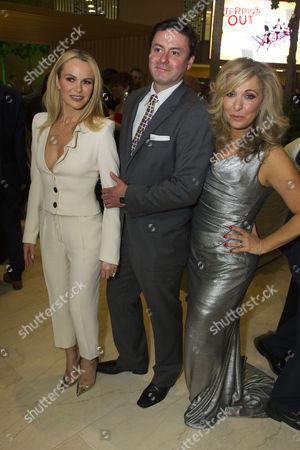 Amanda Holden (Vera), Dominic Rowan (Geoffrey) and Tracy-Ann Oberman (Maxine)