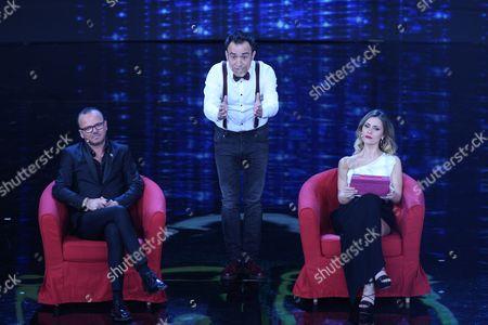 Gigi D'Alessio, Gennaro Calabrese, Fatima Trotta