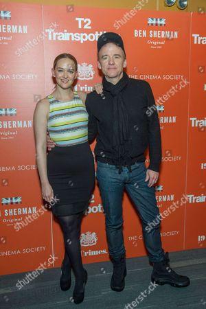 Jess Weixler and David Wilson Barnes