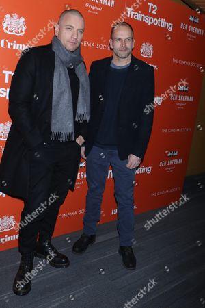 Ewan McGregor and Jonny Lee Miller