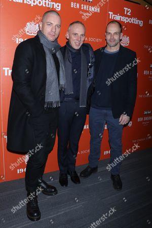 Stock Picture of Ewan McGregor, Ewen Bremner and Jonny Lee Miller