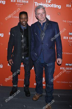 Jon Michael Hill and Aidan Quinn