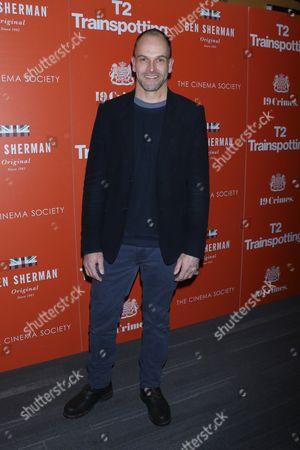 Editorial photo of 'T2 Trainspotting' film screening, Arrivals, New York, USA - 14 Mar 2017