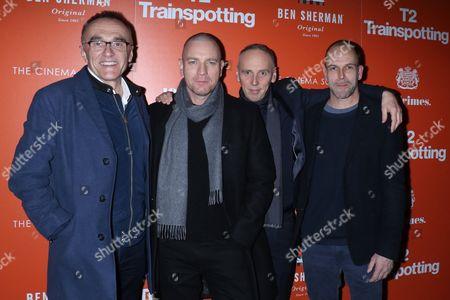 Danny Boyle, Ewan McGregor, Ewen Bremner and Jonny Lee Miller
