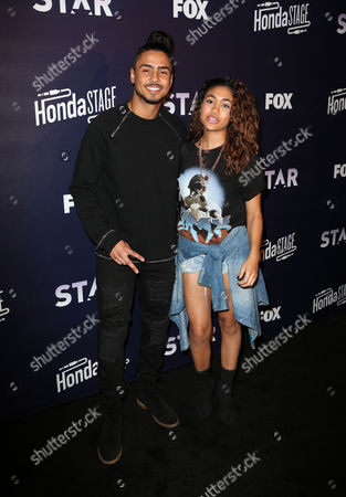Stock Picture of Quincy Brown, Paige Hurd