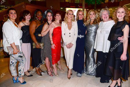 Sandra Marvin, Natalie Casey, Anne-Jane Casey, Amanda Holden, Tamzin Outhwaite, Tracy-Ann Oberman, Judith Barker and Nicola Stephenson