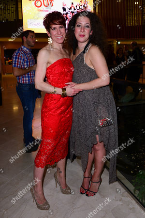 Anne-Jane Casey with her sister Natalie Casey