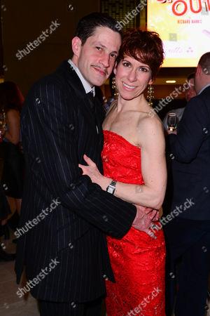 Anne-Jane Casey with her husband Graham MacDuff