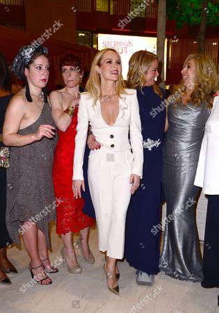 Amanda Holden, Natalie Casey, Anne-Jane CaseyTamzin Outhwaite and Tracy-Ann Oberman