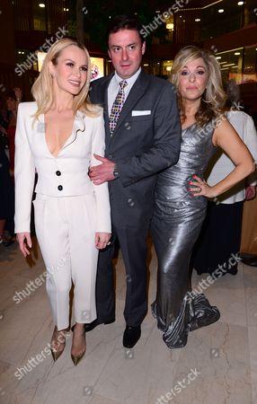 Amanda Holden, Dominic Rowan and Tracy-Ann Oberman