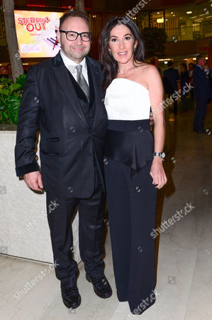 Jonathan Shalit with his wife Katrina Sedley