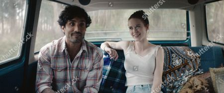 Stock Image of Dominic Rains, Rachel Brosnahan