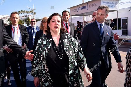 Emmanuelle Cosse, the French Minister for Housing
