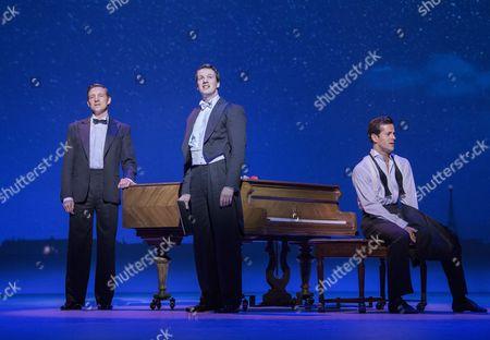Haydn Oakley as Henri Baurel, David Seadon-Young as Adam Hochberg, Robert Fairchild as Jerry Mulligan