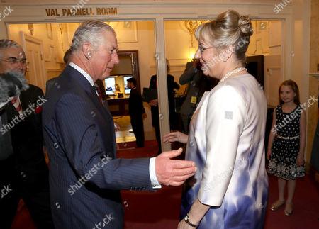 Editorial photo of The Prince's Trust Celebrate Success Awards, Inside, London, UK - 15 Mar 2017