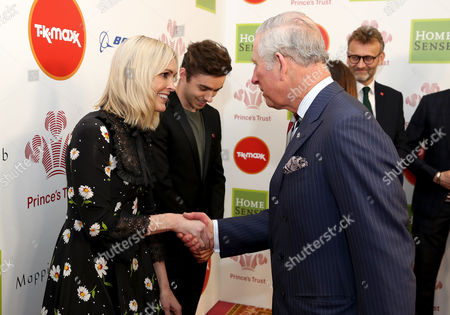 Prince Charles with Jenni Falconer as they attend the Prince's Trust Celebrate Success Awards